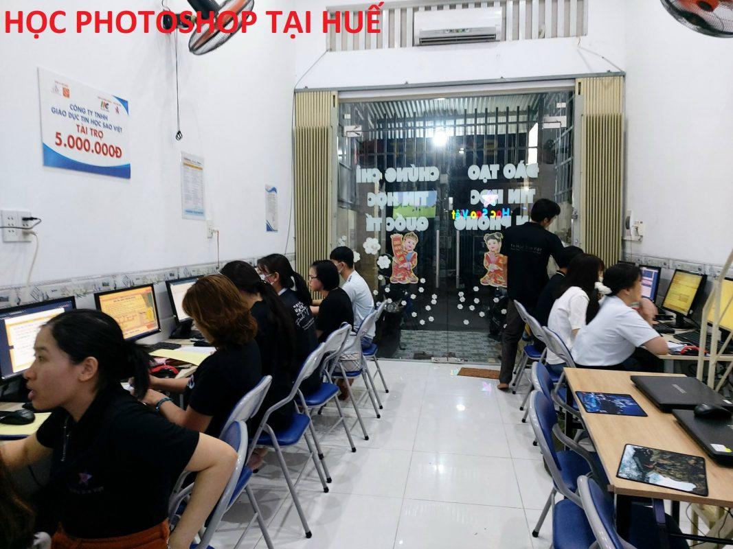 Khóa học photoshop tại Huế