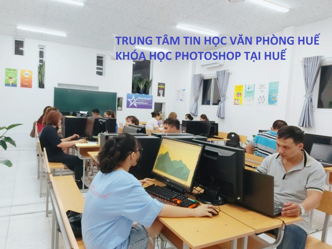 Học thiết kế photoshop tại Huế